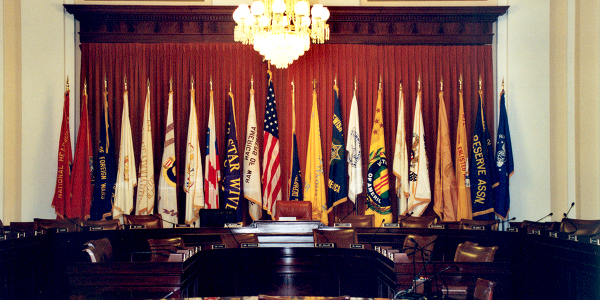 U.S. House of Representatives – Veterans Affairs Committee Boardroom