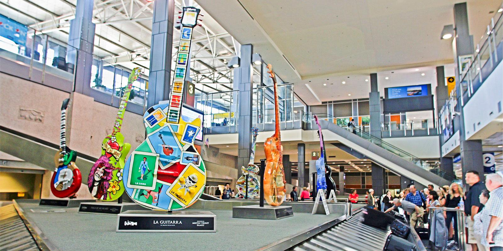 Austin Bergstrom International Airport Ford Av