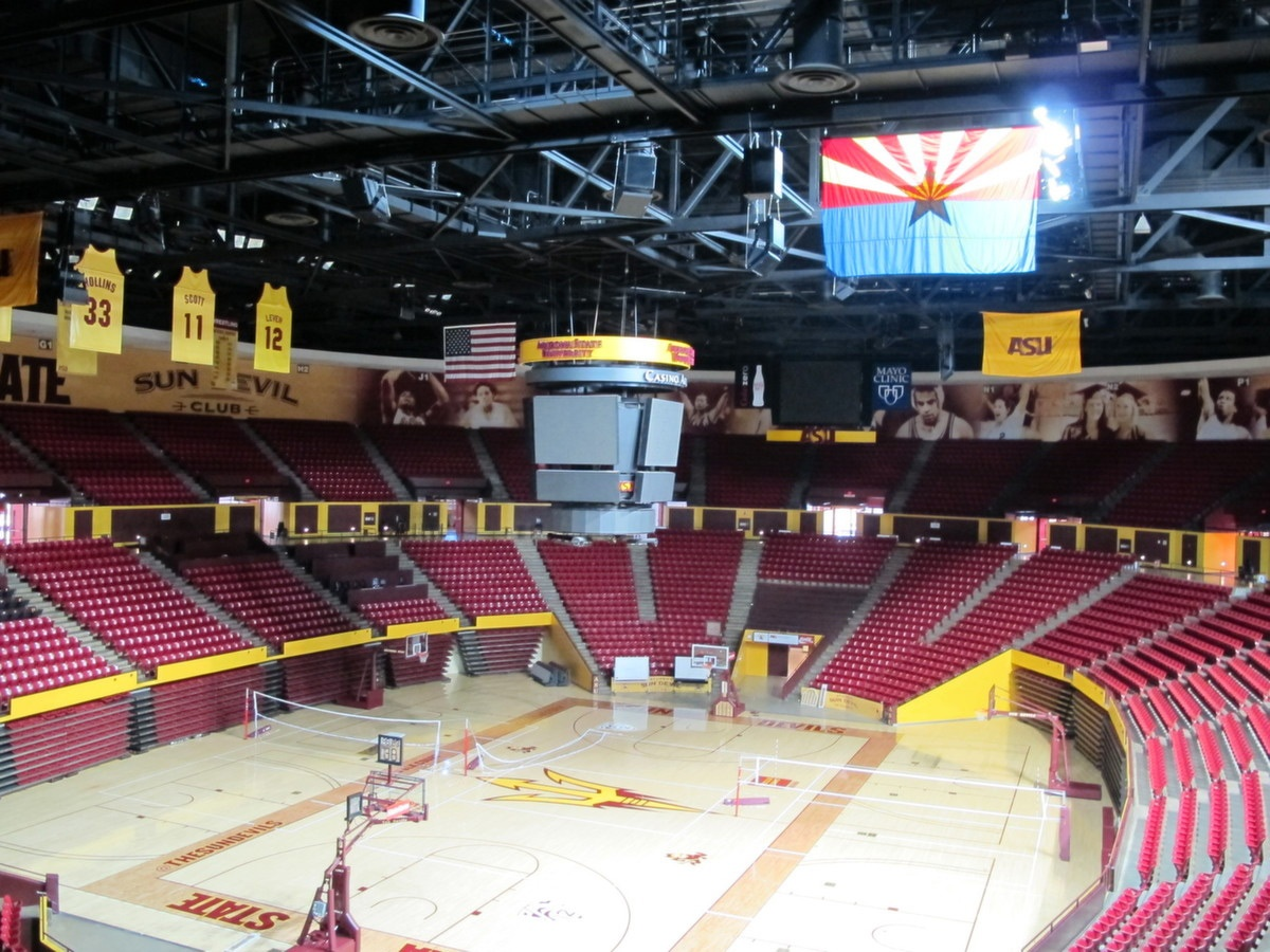 Arizona State University Wells Fargo Arena – Ford AV